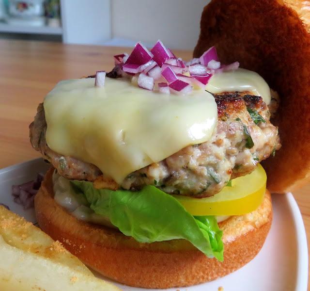 Herbed Turkey Burger