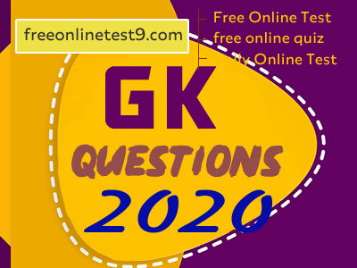 gk questions 2020