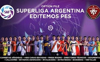 SuperLiga Argentina   Option File   PES2020   PS4   PC