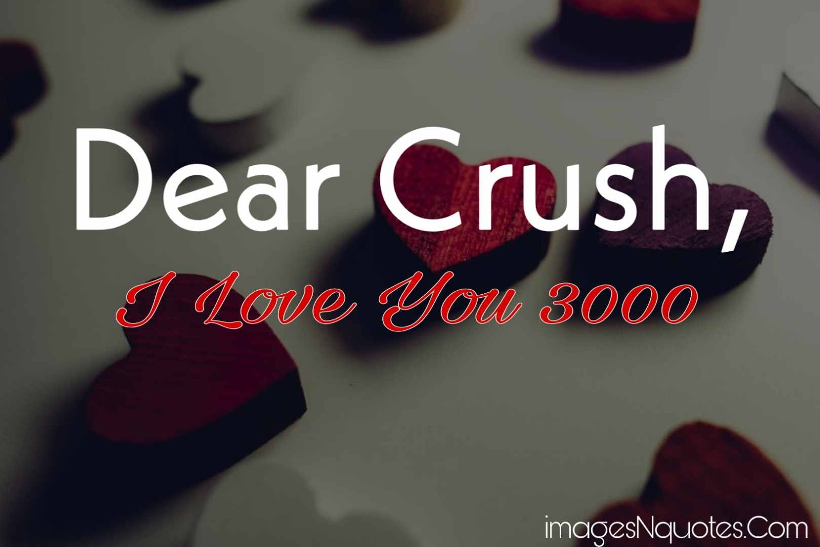 Cute Crush Quotes Straight From The Heart | Dear Crush Lines