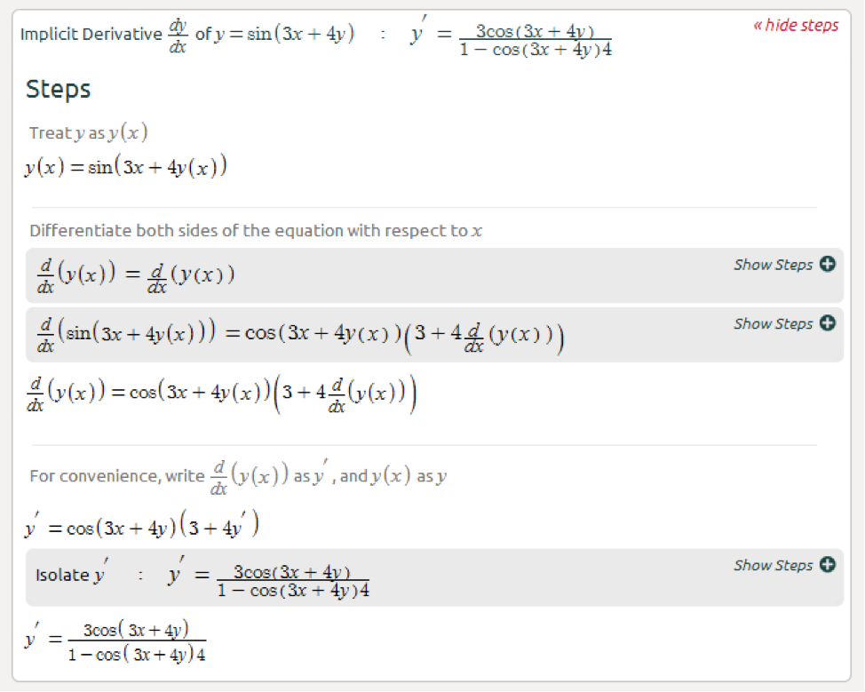 Symbolab Blog Advanced Math Solutions  Derivative