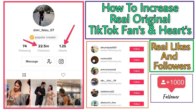 Get Real TikTok Hearts And Fans Free Every Hour 2019 - How To Increase TikTok Hearts And Fans 2019