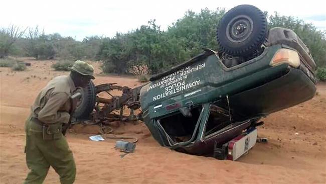مقتل 5 ضباط من الشرطة الكينية