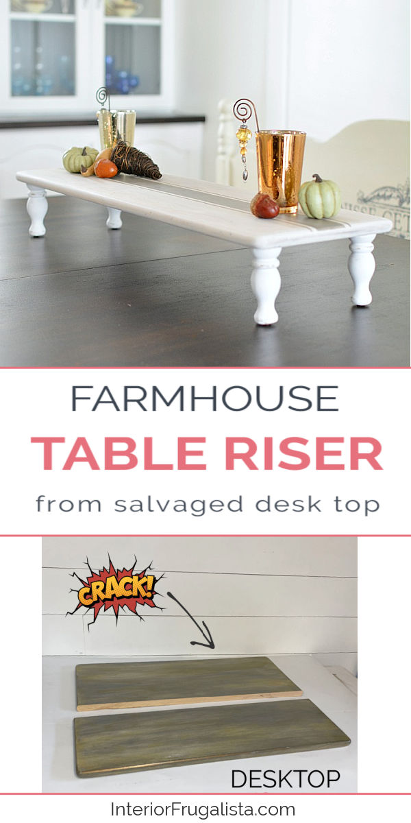 Farmhouse Table Riser