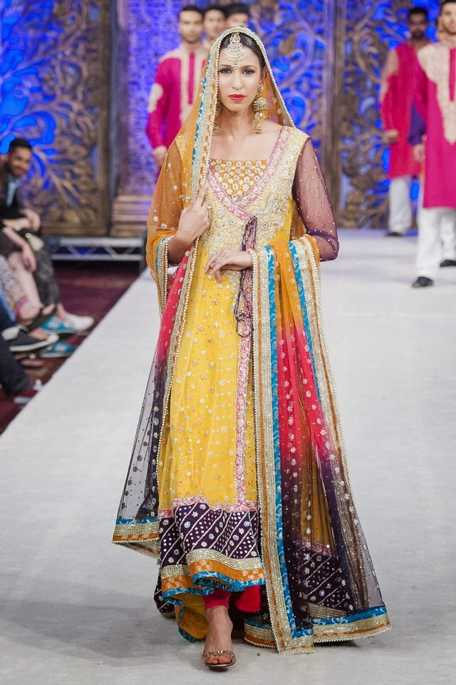 Latest Design Of Assam Type House: Pakistani And Indian Designer Bridal Anarkali Suits And