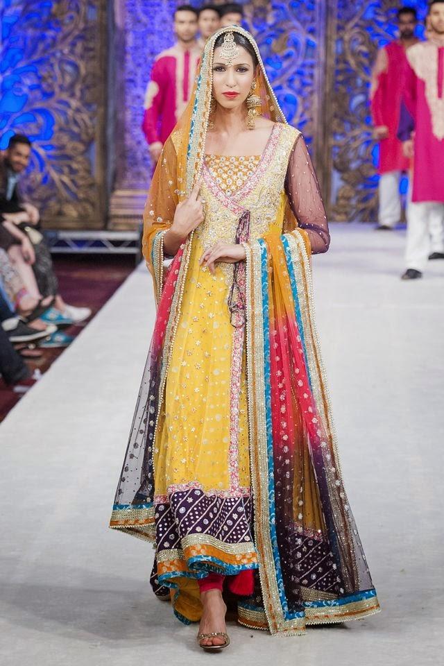New Design Of En Suite Bathroom Bathroom Decor: Pakistani And Indian Designer Bridal Anarkali Suits And