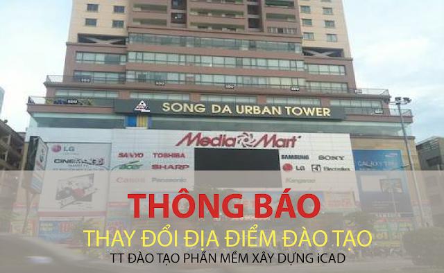 Thông báo thay đổi địa điểm đào tạo MS Project tại Hà Nội
