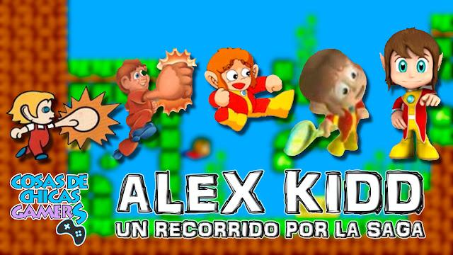 Alex Kidd un recorrido por la saga