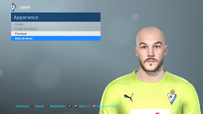 PES 2019 Faces Marko Dmitrović by TiiToo Facemaker