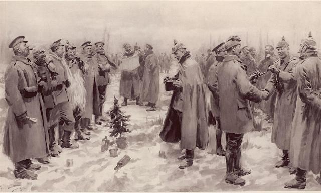 Tregua de Navidad, 1914, Iª Guerra Mundial