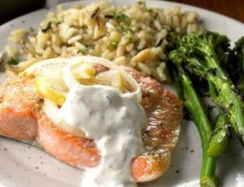 Salmon in Dill Sauce Recipe