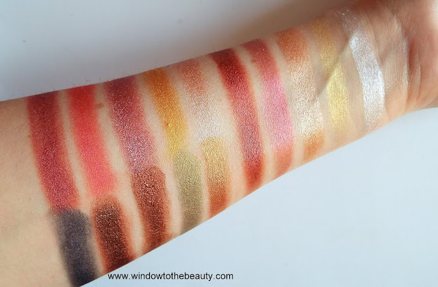 Revolution Foil Frenzy swatches