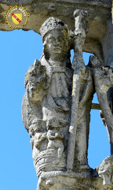 Saint-Nicolas (XVIe siècle) - Croix-calvaire de Rouvres-la-Chétive (88)