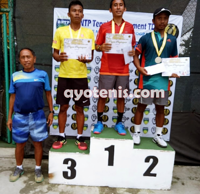 Ega Uneputty Juara BNTP Tennis Tournament  Dunlop Elite Club Tennis Circuit Seri 3