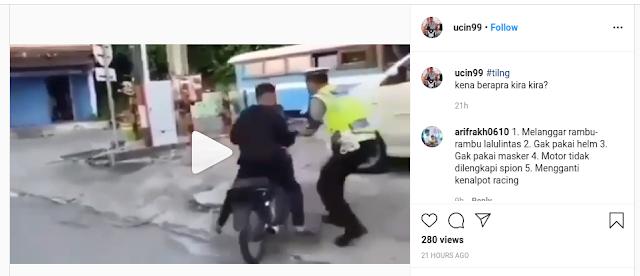 kabru razia polisi