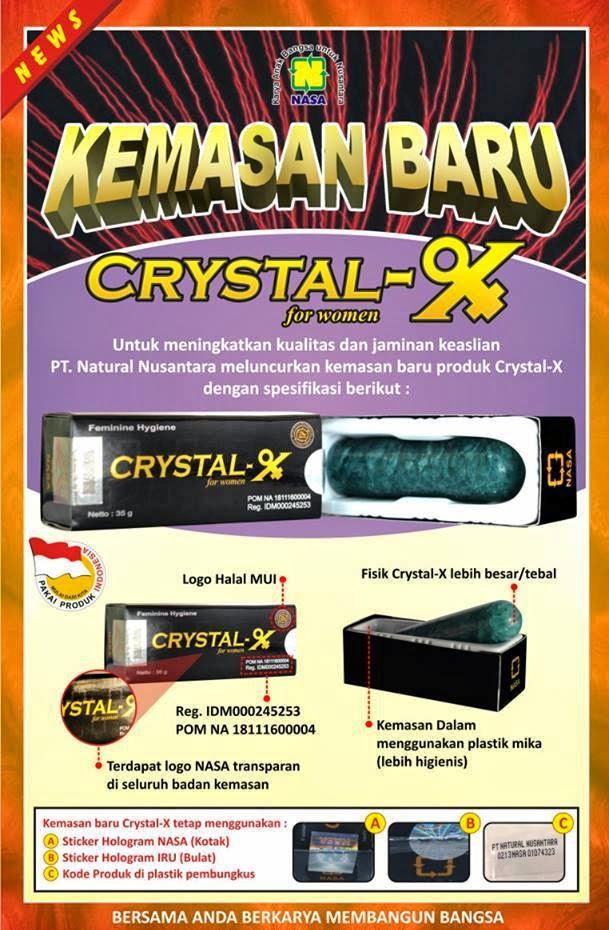 crystal x generasi lama