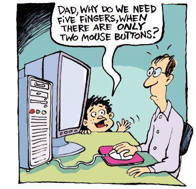Bilgisayar Internet Ve Teknoloji Ile Ilgili Karikaturler