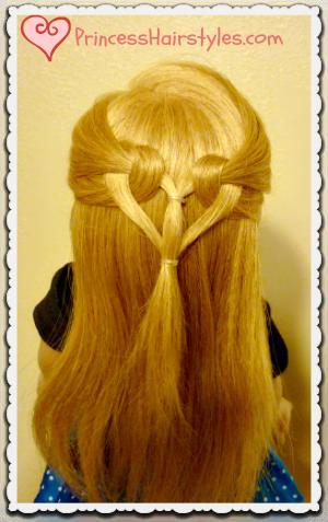 Marvelous Hairstyles For Girls Princess Hairstyles Valentines Day Short Hairstyles Gunalazisus