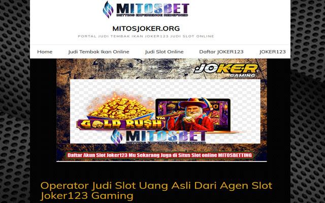 Joker123 Judi Online Indonesia
