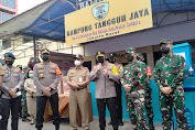 Kapolda Metro Jaya Dan Pangdam Jaya, Kunjungi Kampung Tangguh Jaya Yang Ada Di Wilayah Tambora