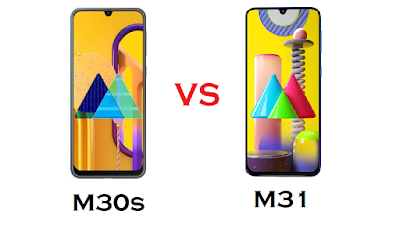 Samsung Galaxy M30s vs Samsung Galaxy M31 Phone Comparison with full Specifications