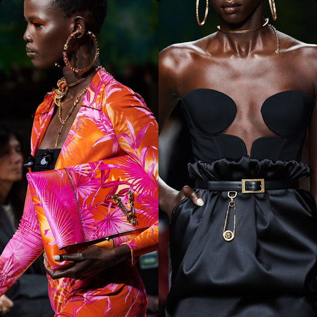 Versace Spring Summer 2020 Milan Fashion Week by RUNWAY MAGAZINE