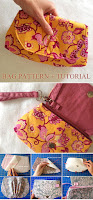 Pink Peony Bag Pattern + Tutorial