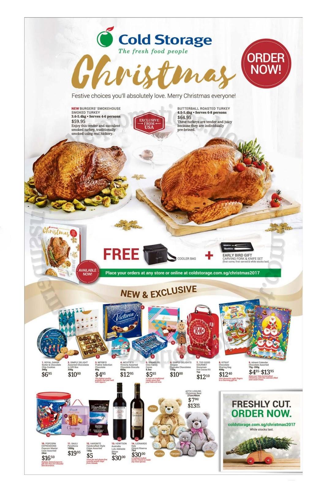 Cold Storage Christmas Order 17 November 2017 ~ Supermarket Promotions