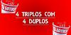 Desdobramento loteca 4 triplos e 4 duplos