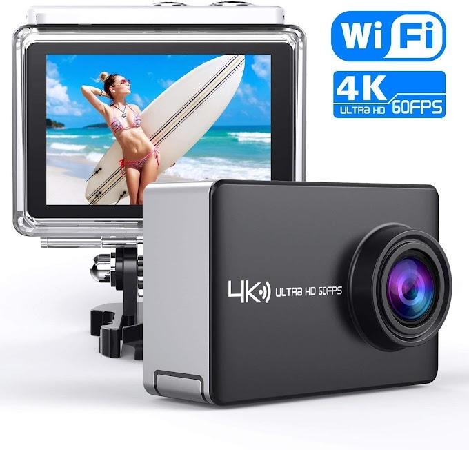 50% off  Real 4K/60fps Action Sport Camera
