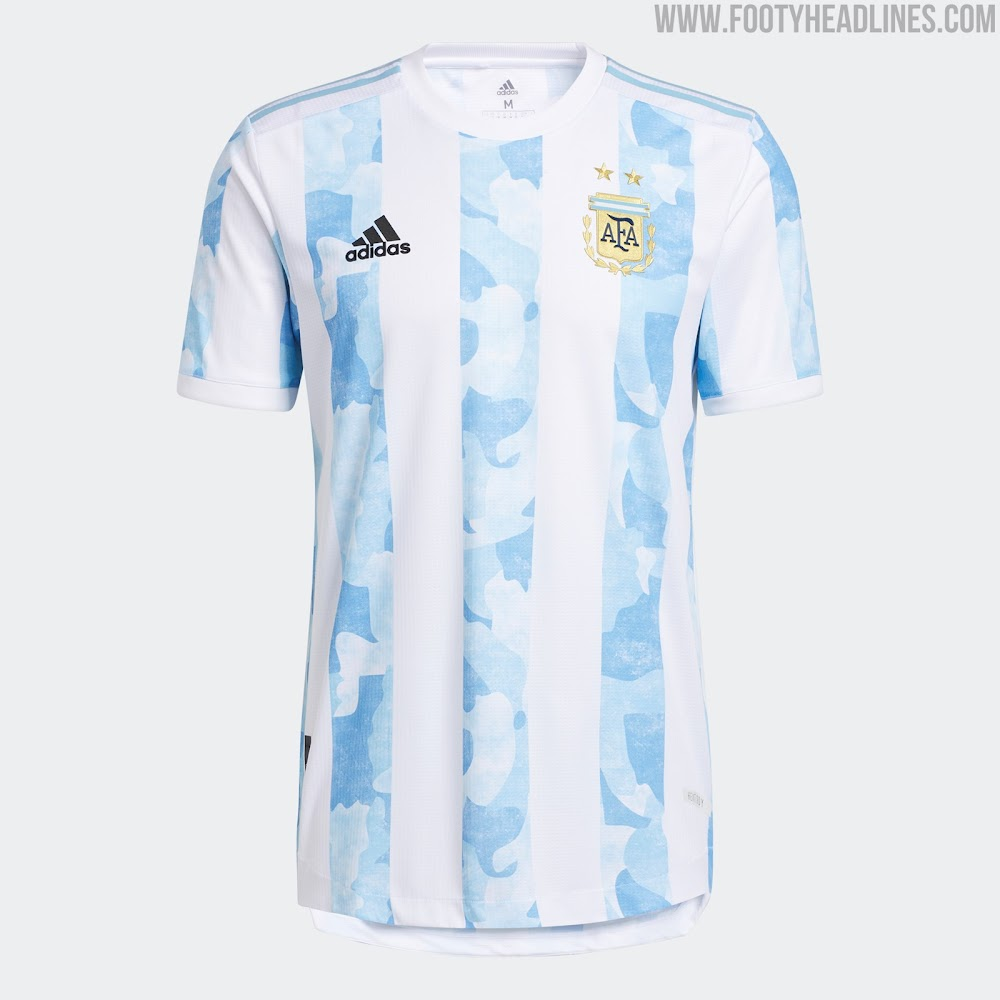 Argentina 2021 Copa America Home Kit Released - Footy Headlines