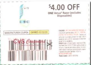 venus razor coupon
