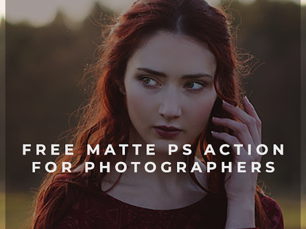 How to create Matte Effect in Photoshop Free Tutorial