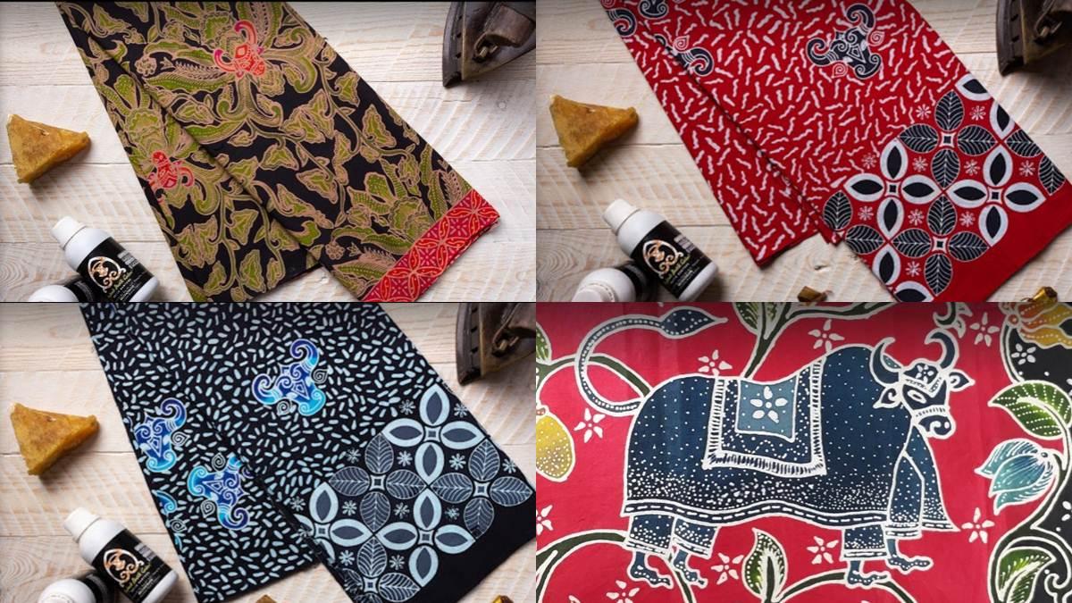 motif-motif batik Bantengan Anjani