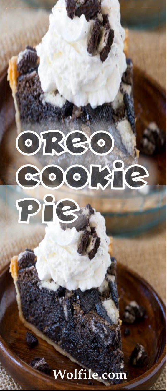 Oreo Cookie Pie Recipes