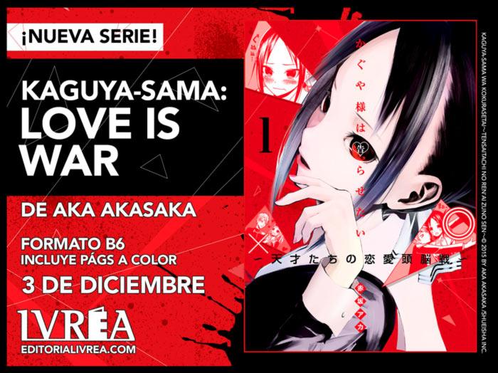 Kaguya-sama: Love is War (Kaguya-sama wa Kokurasetai: Tensai-tachi no Renai Zunousen) manga - Aka Akasaka - Ivrea