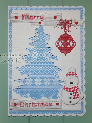 Cutest Snowman Ever Christmas Card  MD CR1348  MD Cr1224 MD COL1347 Joy!Crafts 6002/0560 CottageCutz 439894 Snowman