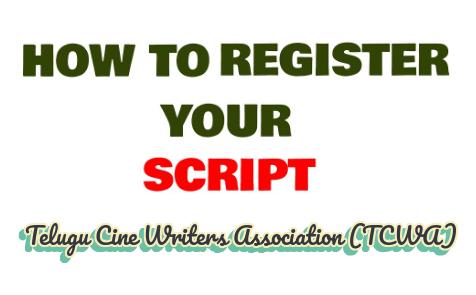 how-to-register-movie-script-in-telugu-cine-writers-association-tcwa