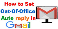 How to Set Vacation reply in Gmail?