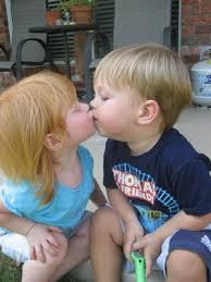 Top latest hd Baby Boy to Girl frist kiss images photos pic wallpaper free download 48