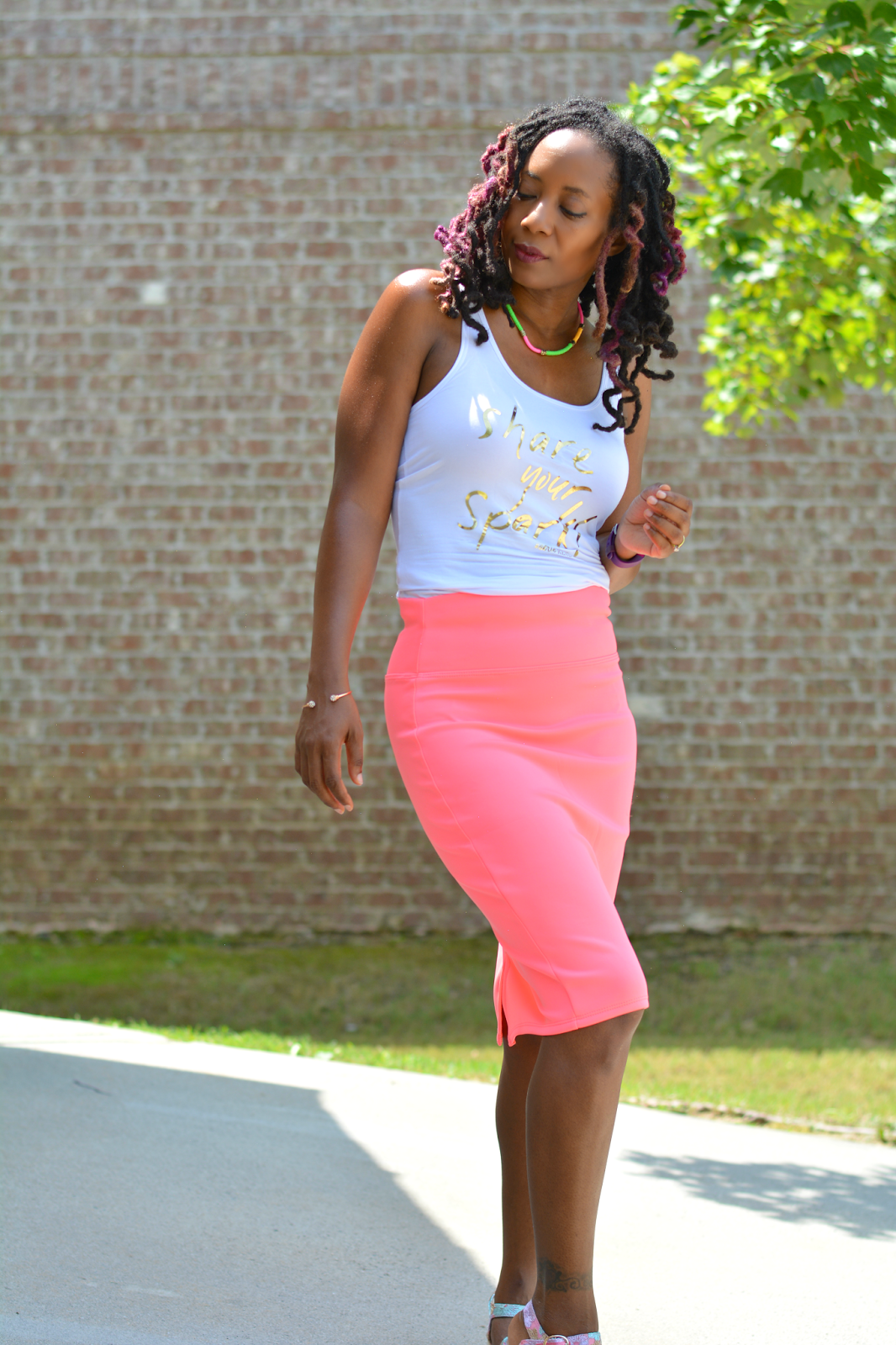 easy to wear pencil skirt