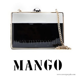 Queen Letizia Style MANGO Touch Clutch