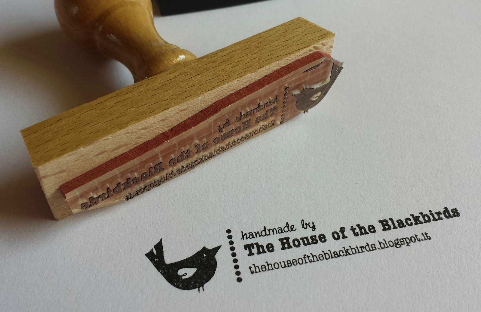 The House Of The Blackbirds Nuovi Timbri New Stamps