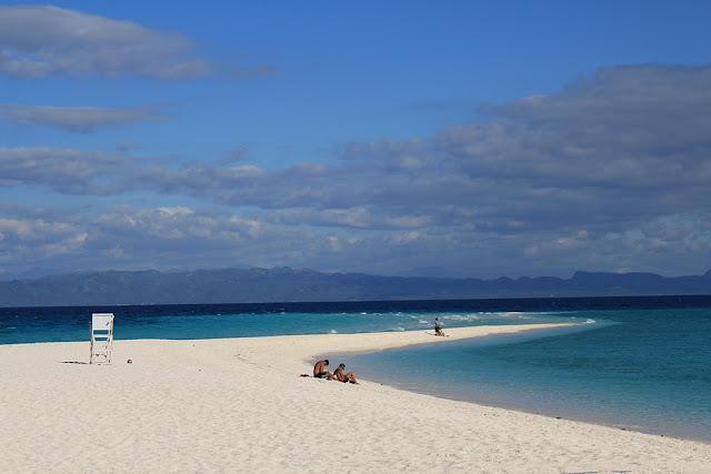 the sand bar of Kalanggaman