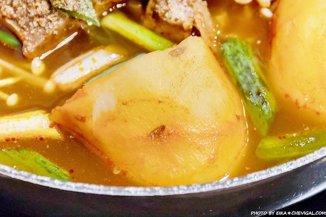 MG 5214 - 熱血採訪│不用特地飛韓國!韓大王馬鈴薯豬骨湯在台中,起司年糕鍋香濃化不開