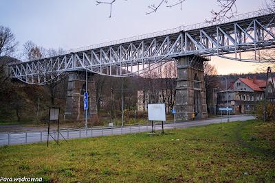 Wałbrzych, wiadukt kolejowy na trasie do Kłodzka