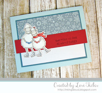 Ewe Make Me All Warm and Toasty card-designed by Lori Tecler/Inking Aloud-stamps from The Cat's Pajamas