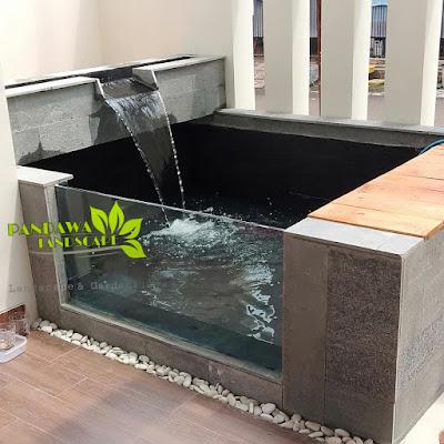 jasa pembuatan kolam ikan koi