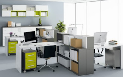 desain tempat kerja minimalis