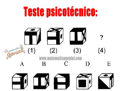 Teste psicotécnico - Qual figura está faltando?